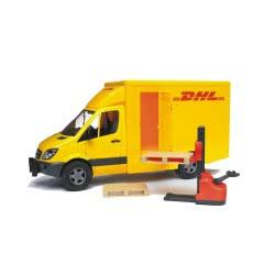 bruder Mercedes Sprinter DHL Με Ανυψωτικό BR002534 4001702025342
