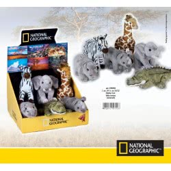 LELLY National Geographic Λούτρινα Zωάκια Μωρά Σαββάνας 770702 8004332707028