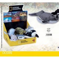 LELLY National Geographic Λούτρινα Μωρά Ζωάκια Θάλασσας 770704 8004332707042