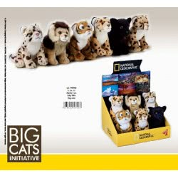 LELLY National Geographic Λούτρινα Mωρά Ζωάκια Ζούγκλας 770706 8004332707066