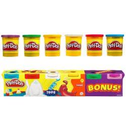 Hasbro Play-Doh 4+2 Classic 23565 5010994048365