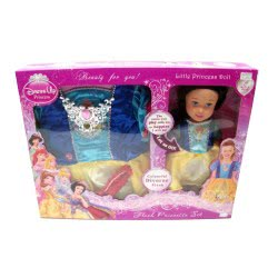 Toys-shop D.I Στολή Πριγκίπισσας μαζί με κούκλα Πριγκίπισσα KD241775(1-6) 5262088417759