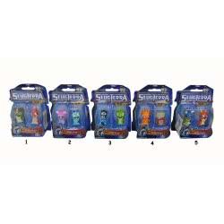 GIOCHI PREZIOSI Slugterra 2 Pack Φιγούρες Slugs W3 GPH73589/GR 8027638020011