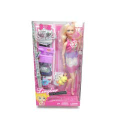 Toys-shop D.I Κούκλα Μόδας Linglier Fashion Doll KD254433 5262088544332