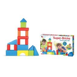 Toys-shop D.I Τουβλάκια 17τεμ Super bricks KD254448 5262088544486