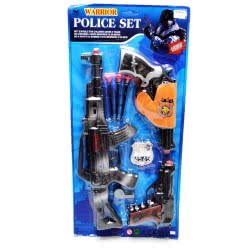 Toys-shop D.I Σετ Αστυνομικού με όπλο Police play set KD254732 5262088547326