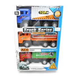 Toys-shop D.I Friction φορτηγά σετ 3τεμ truck KD255407 5262088554072