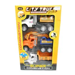 Toys-shop D.I Friction construction car σετ δομικά 3τεμ KD261923 5262088619238