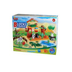 Toys-shop D.I Τουβλάκια 42τεμ Blocks paradise KD261979 5262088619795