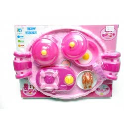 Toys-shop D.I Κουζινικά Σετ Δείπνου Με Δίσκο Dinner Play Set KD262738 5262088627387