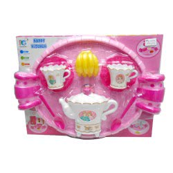 Toys-shop D.I Κουζινικά Σετ Τσαγιού Με Δίσκο Tea Play Set KD262739 5262088627394