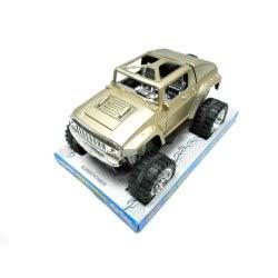 Toys-shop D.I Friction Τζιπ σε χρυσό χρώμα 25εκ KD264176 5262088641765