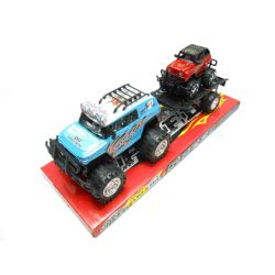 Toys-shop D.I Friction 2 Τζιπ με τρέιλορ tow truck 44εκ KD264203 5262088642038