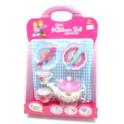 Toys-shop D.I Κουζινικά σετ τσαγιού mini kitchen set KD264294 5262088642946
