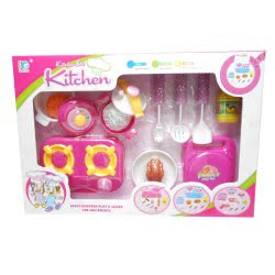 Toys-shop D.I Κουζινικά Σετ Με Γκαζιέρα Cooking Play Set KD265441 5262088654413