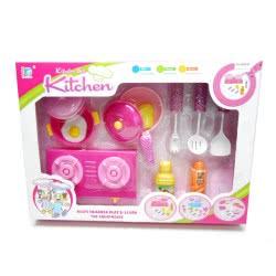 Toys-shop D.I Κουζινικά Σετ Με Γκαζιέρα Cooking Play Set KD265442 5262088654420