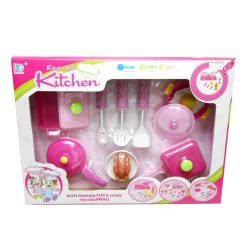 Toys-shop D.I Κουζινικά σετ με γκαζιέρα Cooking play set KD265443 5262088654437