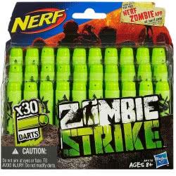 Hasbro NERF Zombie Strike 30-Pack Deco Refill - Ανταλλακτικά Βέλη A4570 5010994777616