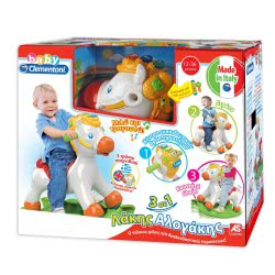 Clementoni baby Baby Clementoni Βρεφικό παιχνίδι Λάκης Αλογάκης(μιλάει Ελληνικά) 1000-63152 8005125631520