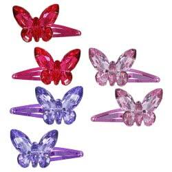 Pink Poppy Τσιμπιδάκι Πεταλούδα 3D 0091794 HC-123 9321268077612