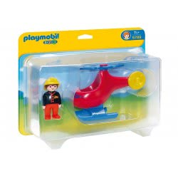 Playmobil Fire Rescue Helicopter 6789 4008789067890