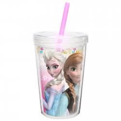 HOLLYTOON Disney Frozen ΠΟΤΗΡΙ ΜΕ ΚΑΛΑΜΑΚΙ REN47002 707226737054