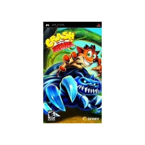 Activision PSP CRASH OF THE TITANS 5030917096136 5030917096136