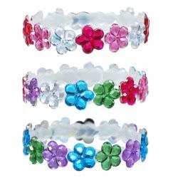 Pink Poppy Βραχιόλι Λαμπερά Λουλούδια 0091796 BC-129 9321268084252