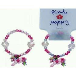 Pink Poppy Βραχιόλι Αλογάκι 0080930 BCY-032 9321268058956