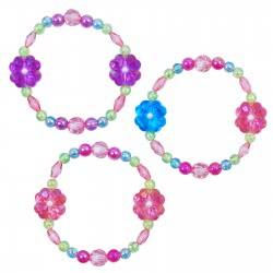 Pink Poppy Βραχιόλι Τριφύλλι Λουλούδι 0091795 BC-125 9321268084412