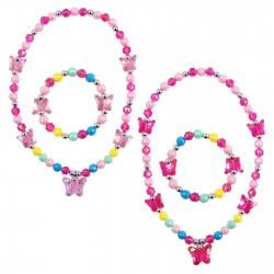 Pink Poppy Κολιέ Βραχιόλι Σετ Φρούτα Πεταλούδα 0804550 NBF-833 9321268077278