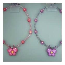 Pink Poppy Κολιέ Διαμαντένιο Πεταλούδα 0080931 NCY-010 9321268041439
