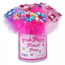 Pink Poppy Στυλό Πολύχρωμα Χνουδωτά 0098354 YK-133 9321268082371