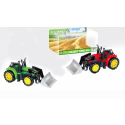 Toys-shop D.I Friction Αγροτικό τρακτερ με φαγάνα JA056042 5262088560424