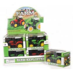 Toys-shop D.I Friction μικρά Τρακτέρ JA056048 5262088560486