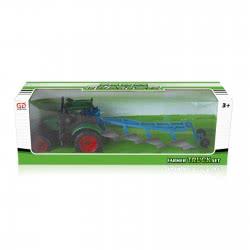 Toys-shop D.I Friction Αυτοκούρδιστο Τριβής Τρακτέρ με άροτρο JA056578 5262088565788