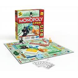 Hasbro Monopoly Junior Επιτραπέζιο A6984 5010994785284
