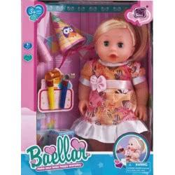 Toys-shop D.I Baellar Κούκλα Μωρό 30Εκ. Με Διάφορα Αξεσουάρ Πάρτυ JO049366 5262088493661