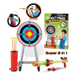 Toys-shop D.I KingSport Toys Στόχος με τόξο και φυσοκάλαμο JS043730 5262088437306