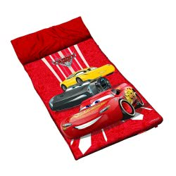 John Sleeping Bag - Υπνόσακος Σε Τσαντάκι Cars 140 X 60Cm 72503 4006149725039