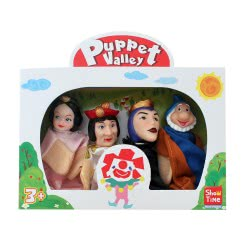 Argy Toys Κουκλοθέατρο Σετ Παραμύθι Χιονάτι 7215-4 5221275900030