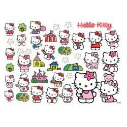 HOLLYTOON ΑΥΤΟΚΟΛΛΗΤΟ ΤΟΙΧΟΥ 50x70cm Hello Kitty ( WS000201) 5205125002013