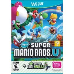 Nintendo WII U New Super Mario Bros U with Super Luigi U 045496332167 045496332167