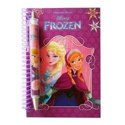 Diakakis imports Σετ Σημειωματάριο Με Στυλό Disney Frozen 0561228 5205698183126