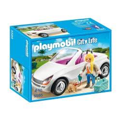 Playmobil Cabrio Με Κυρία Και Σκυλάκι 5585 4008789055859