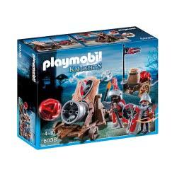 Playmobil Ιππότες του Γερακιού με κανόνι-γίγα 6038 4008789060389
