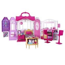 Mattel Σπιτάκι - Βαλιτσάκι Barbie CHF54 887961078558