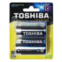 TOSHIBA Μπαταρίες Alkaline D Lr20 0249131 4904530589904