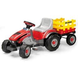Peg-Perego Toys Peg-Perego Τρακτέρ Με Καρότσα Mini Tony Tigre Tc CD0529 8005475269237