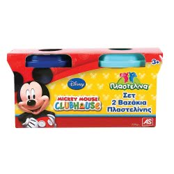 As company Mickey Mouse Clubhouse Dough Σετ 2 Βαζάκια Mickey 1045-03529 5203068035297